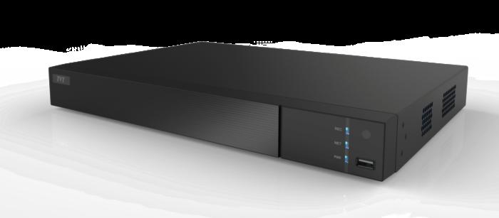 TVT 8CH 8MP Rec H.265 NVR 8xPoE, 4K O/P, 1SATA fitted 3TB HD
