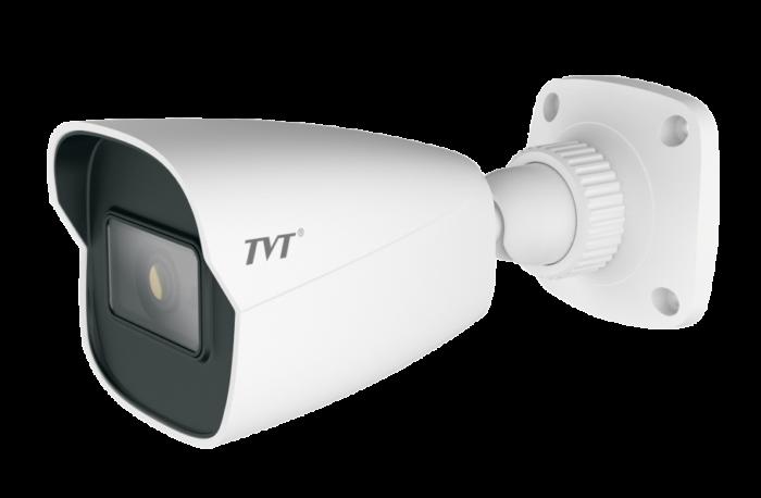 TVT 8MP Mini Bullet H.265 IPC, 20FPS, DWDR, 20m IR, 2.8mm