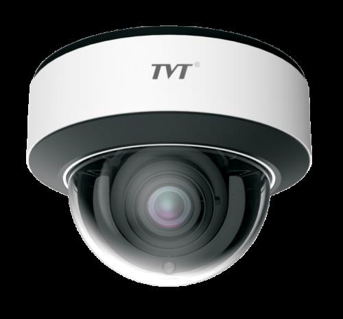 TVT 8MP Mini Dome H.265 IPC, 20FPS, DWDR, 20m IR, 2.8mm