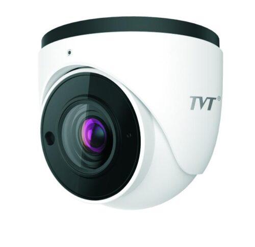 TVT 8MP Eyeball WDR H.265 IP Cam, 30-50m Smart IR, Zoom3.3