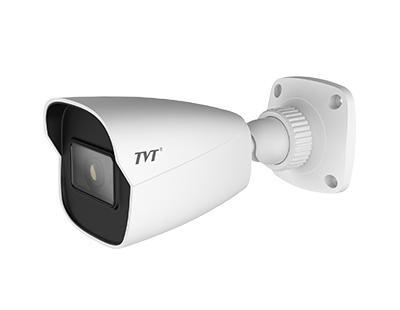 TVT 4MP AI Deep Learning Mini Bullet IPC, WDR, 20m IR, 2.8mm